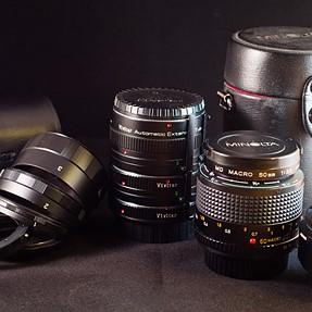 Minolta MD MACRO 50mm 3.5 Quick Review