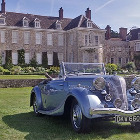 Stately Home and Car