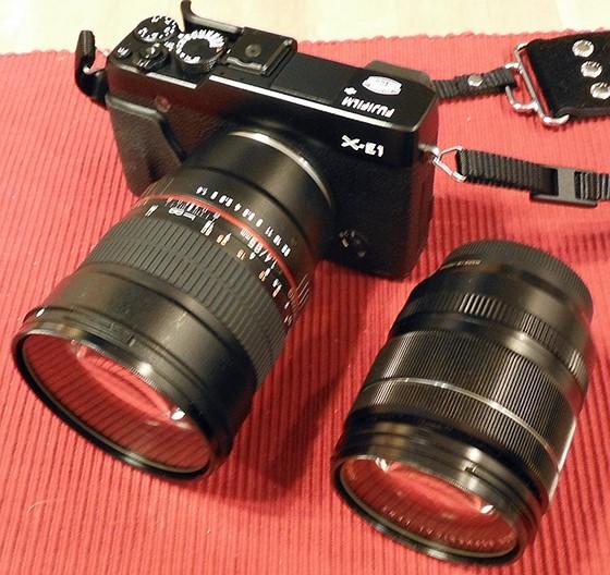 Rokinon 85mm f/1 4 X Mount Test shots: Fujifilm X System