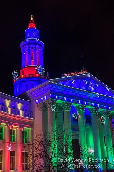 Denver Civic Center Christmas Lights Fz1000 Panasonic