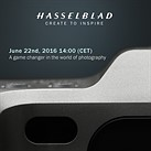Hasselblad to announce 'game changer' next week