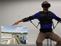 The FlyJacket soft exoskeleton turns your body into a drone controller