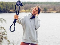 Frii Designs' new Conda Strap is a camera strap that turns into a flexible mount