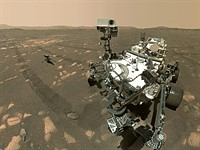 How did NASA's Perseverance rover capture its first selfie on Mars with Ingenuity? This is how.