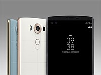 LG V10 features dual front cam and secondary display