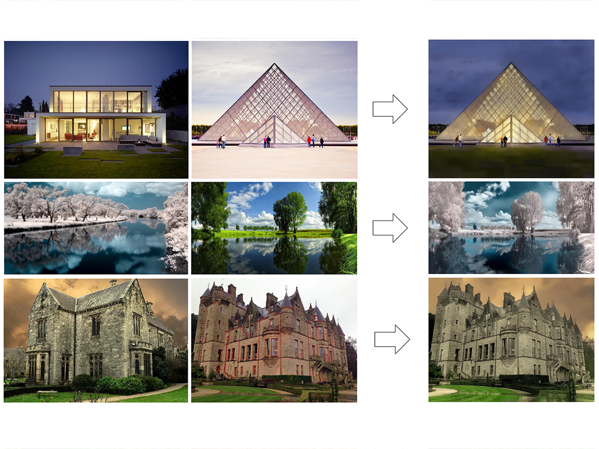 This NVIDIA algorithm copies the artistic style of one photo onto