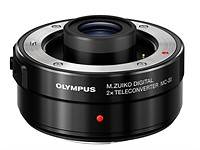 Olympus introduces 2X teleconverter, updates Micro Four Thirds roadmap