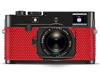 Leica announces special edition M-P in red table tennis bat rubber