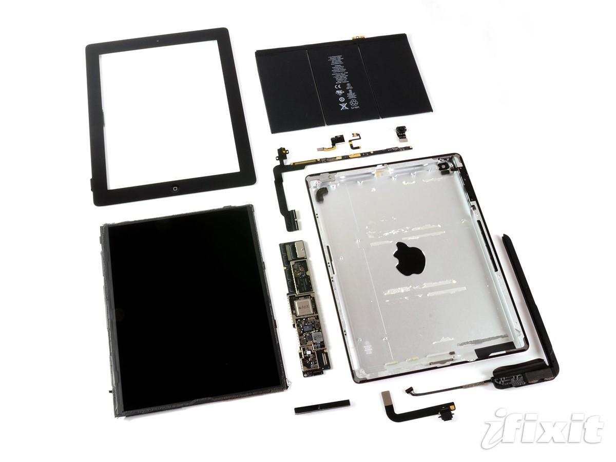 iPad 4 teardown reveals larger front-facing camera: Digital