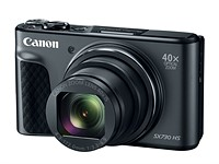 Canon's PowerShot SX730 HS travel zoom offers 40x lens in a very small package