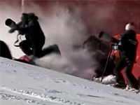 Photographer hit by Olympic skier Lara Gut during wipeout