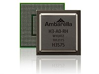 Ambarella announces 8K-ready H3 SoC for drones and video cameras