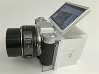 DIYer adds giant heat sink to overheating Lumix GF7 camera