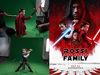 Photographer Dad creates epic Star Wars Christmas card for his family