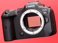 Canon EOS R6 added to studio test scene