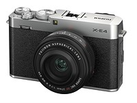 Fujifilm X-E4: slimmed down, rangefinder style 26MP mirrorless
