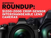 2016 Roundup: $1200-2000 ILCs part 1 - Crop-Sensor