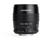 Lensbaby announces Velvet 85 F1.8 lens for 'lustrous skin tones'