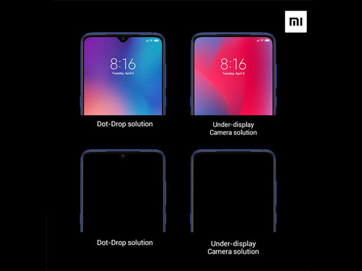 Xiaomi provides more information about under-screen front camera