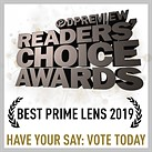 Have your say: Best prime lens of 2019