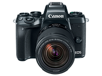 Canon EOS M5 elevates enthusiast appeal with 24MP Dual Pixel AF sensor and built-in EVF