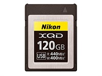 Nikon announces 64GB and 120GB XQD memory cards
