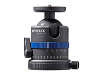 Novoflex ClassicBall ball heads can be mounted upside-down for level panoramas