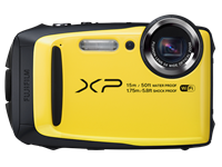 Fujifilm's budget FinePix XP90 rugged camera makes a splash