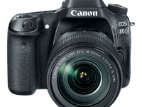 Canon EOS 80D updates Dual Pixel AF, bumps resolution with 24MP sensor