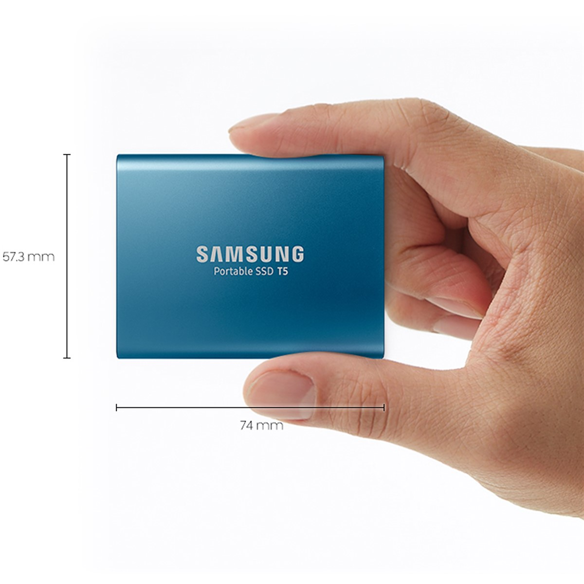 Super fast, tiny Samsung T5 portable SSD hits 540MB/s, can handle