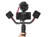 GorillaPod unveils the Mobile Rig: A flexible tripod with two extra accessory arms