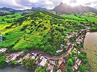 Google Street View is unavailable in Mauritius, so one resident created his own using a DJI drone