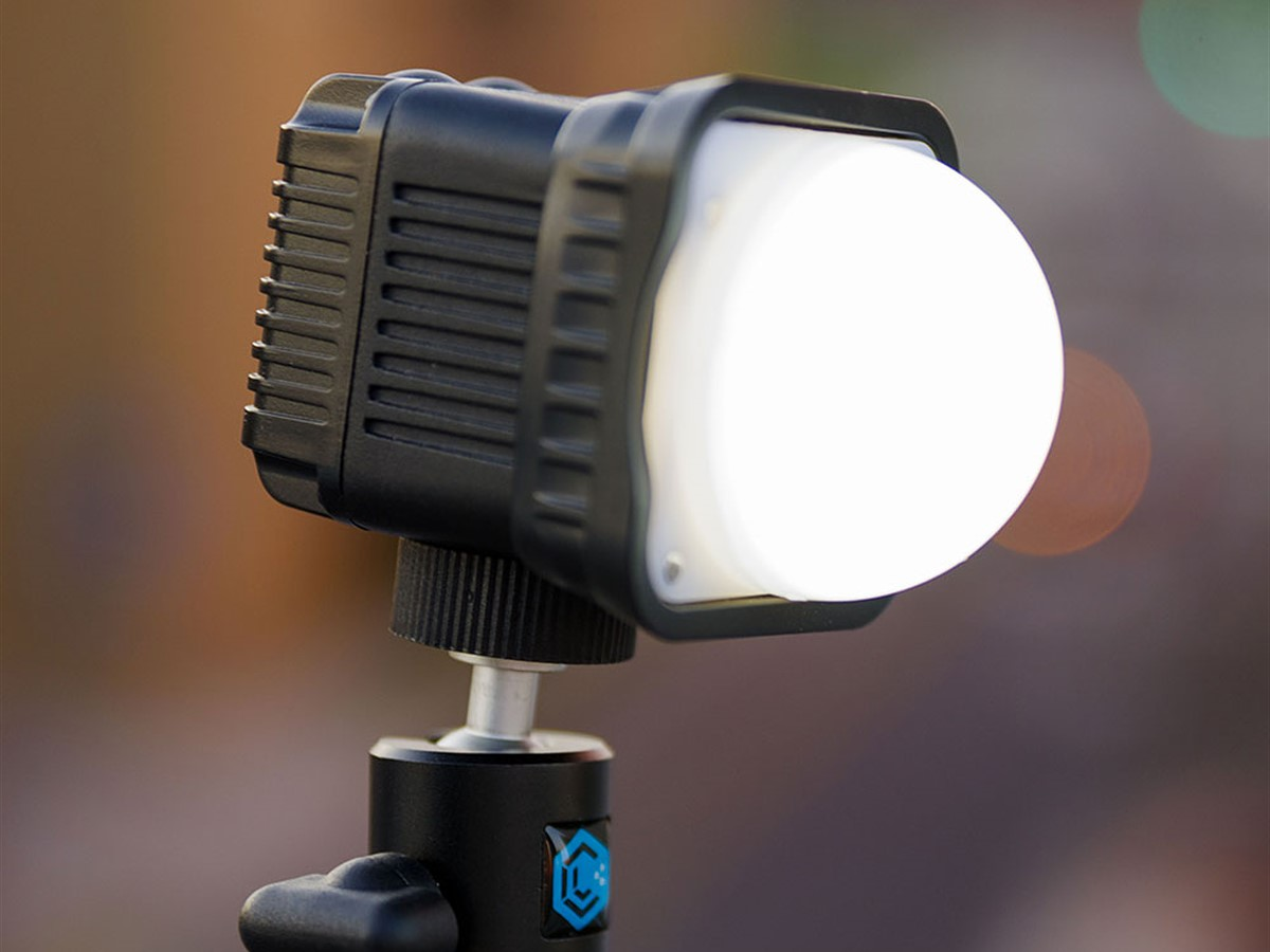 LED Lamp Single Battery Diving Fill Light Photography Lamp News brighness Interview Flash Light Suitable for Home Outdoor Travel