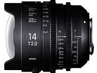 Sigma announces pricing and availability of 14mm and 135mm T2 Cine Prime lenses