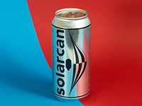 Solarcan is a single-use pinhole camera made out of a soda can