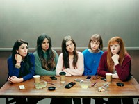 David Stewart's 'Five Girls' wins £12,000 Taylor Wessing Photographic Portrait Prize