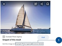 Google Images launches 'Licensable' badge, making it easier for users to identify creators and license images