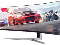 Insane 49-inch monitor from Samsung redefines wide-screen