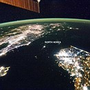 Photos capture political boundaries from space