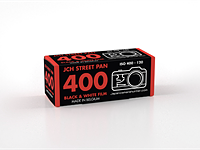 Japan Camera Hunter StreetPan 120 Black & White film is now available for preorder