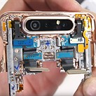 Samsung Galaxy A80 teardown reveals complex camera swivel mechanism