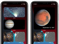 This iOS 14 widget adds NASA's Astronomy Picture of the Day to your homescreen