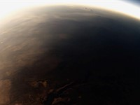 These guys captured the total solar eclipse from a stratospheric balloon