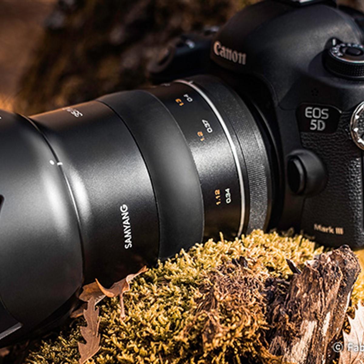 Samyang announces 35mm F1 2 'XPert' lens for EF mount cameras, due