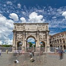 This hyperlapse captures Rome's bustle and beauty
