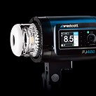 Westcott FJ400 is a sleek 400ws portable flash head with cross-platform radio trigger