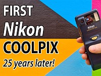 Video: A 'Retro Review' of Nikon's first consumer digital camera, the Coolpix 100