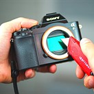 Video: How scratch-proof is a Sony a6000 image sensor?