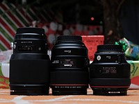 Comparing the Canon 85mm F1.4L IS against its top competitors