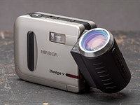 Minolta DiMAGE V hands-on review
